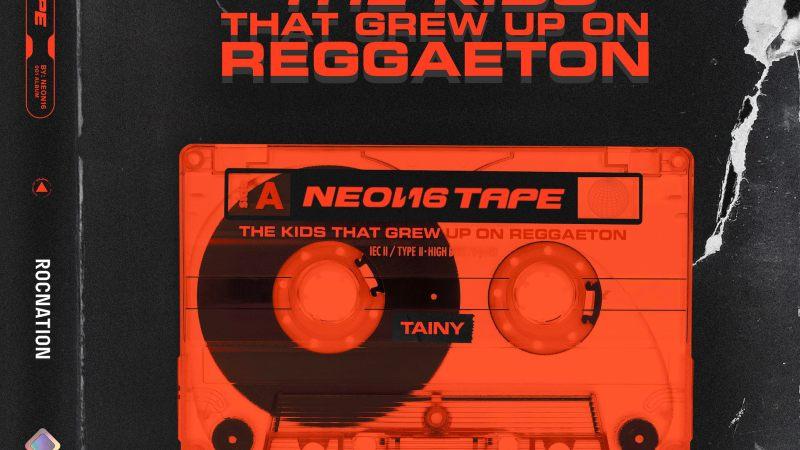 """TAINY EL PRODUCTOR Y ARTISTA ROMPE BARRERAS, LANZA SU TAN ESPERADO EP """"THE KIDS THAT GREW UP ON REGGAETON: NEON TAPES"""""""