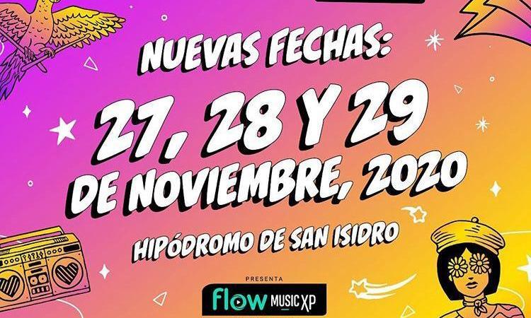 Reprogramación de Lollapalooza Argentina 2020 para los días 27, 28 y 29 de noviembre