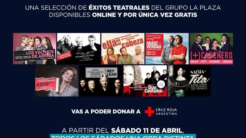 """Lanzamiento de la temporada teatral """"LA PLAZA ONLINE"""""""