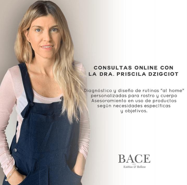 Novedades online en el centro de estética y belleza BACE