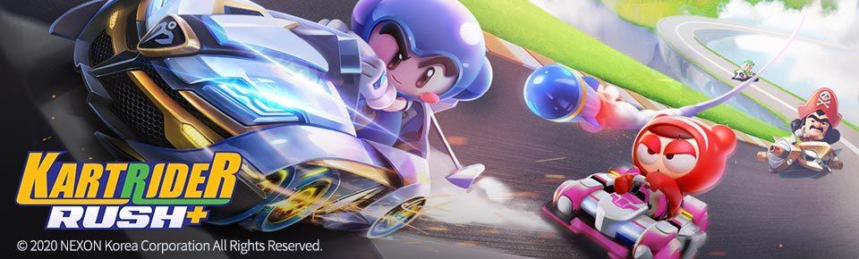 ¡La carrera está en marcha! ¡KartRider Rush+ se lanza en todo el mundo el 12 de mayo!
