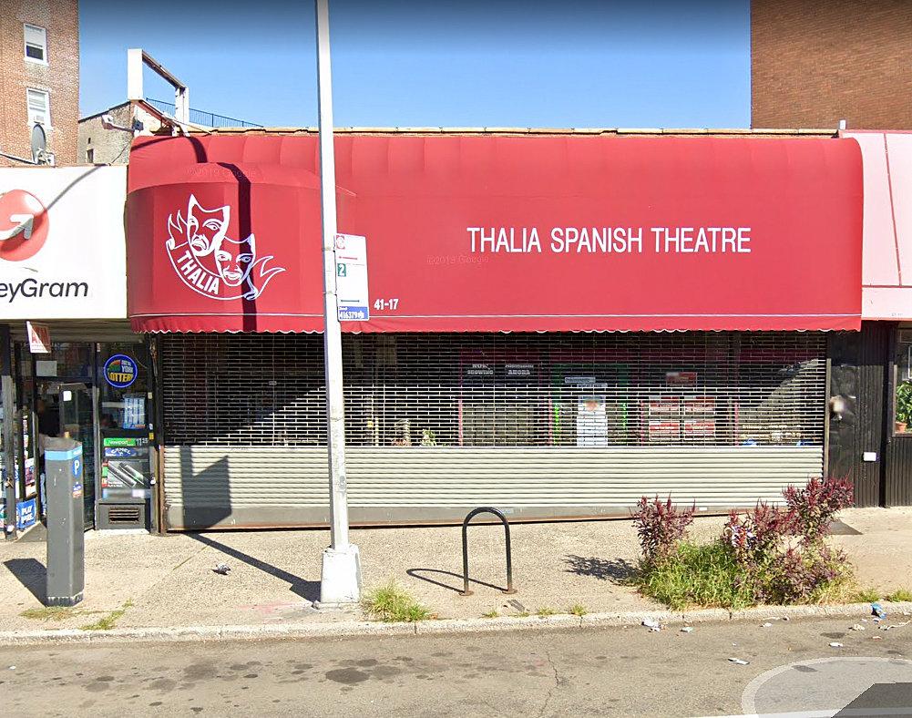 El teatro hispano Thalía de Nueva York, dos veces golpeado por el coronavirus