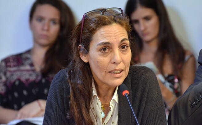 La diputada nacional Carla Carrizo