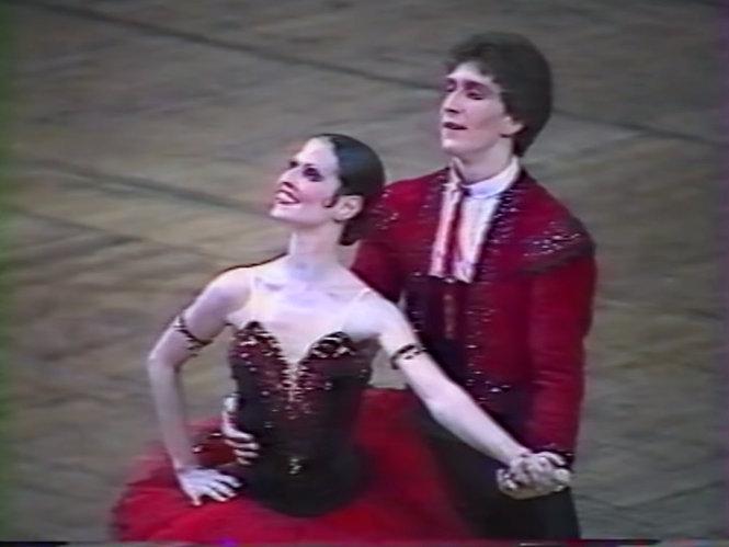 Julio Bocca y Raquel Rossetti
