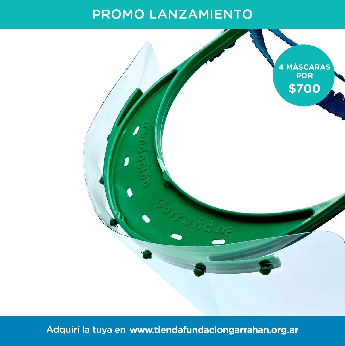 Nuevo Producto Solidario de Fundación Garrahan: Máscaras de protección producidas con materiales 100% reciclados y sustentables