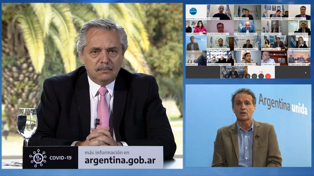 Alberto Fernández dijo que «Argentina tiene un horizonte» tras la pandemia y destacó la obra pública