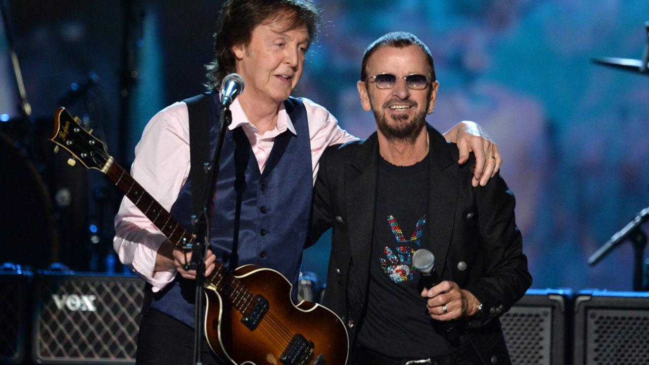 Ringo Starr y Paul McCartney se reúnen para concierto virtual de caridad