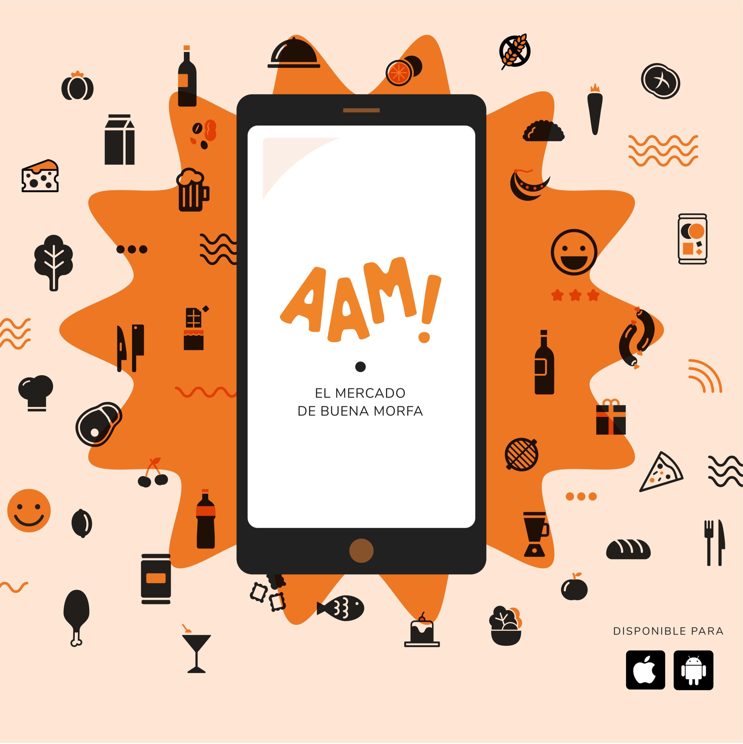 """Nace """"AAM!"""" El primer mercado virtual by  Buena Morfa Social Club"""