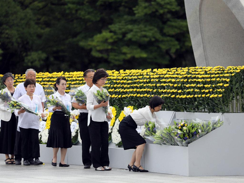 A 75 años de Hiroshima y Nagasaki, Japón aún llora a sus muertos por las bombas atómicas