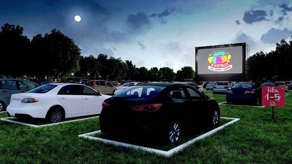 Lanzan una propuesta cultural al aire libre y sin salir del auto en la República de los Niños
