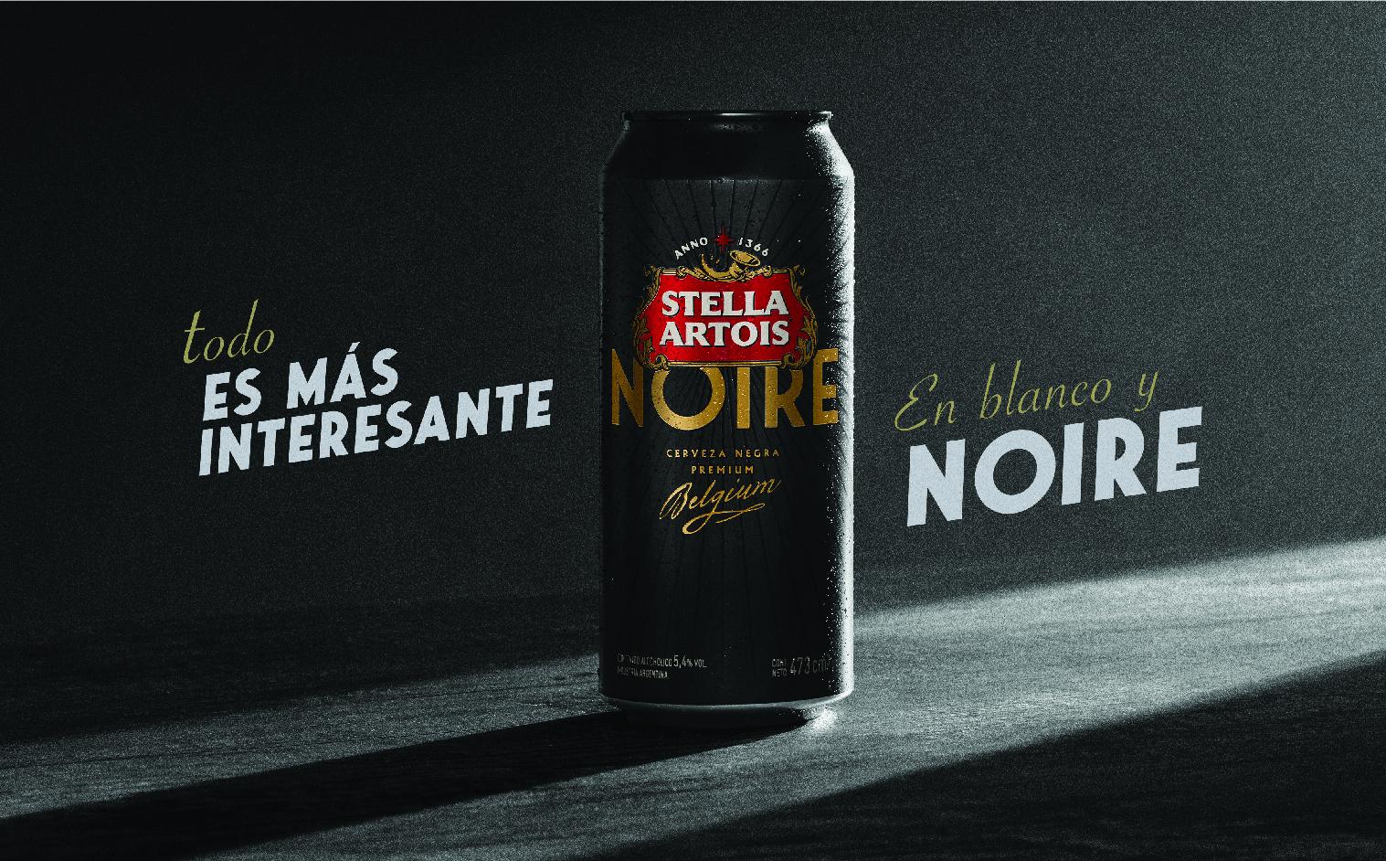 Stella Artois lanza una nueva lata de su variedad negra
