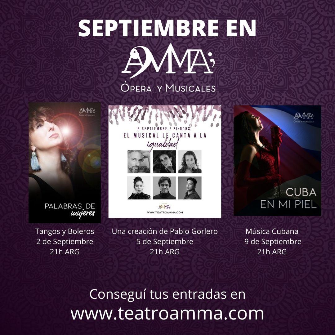 Teatro AMMA, el primer teatro virtual del país