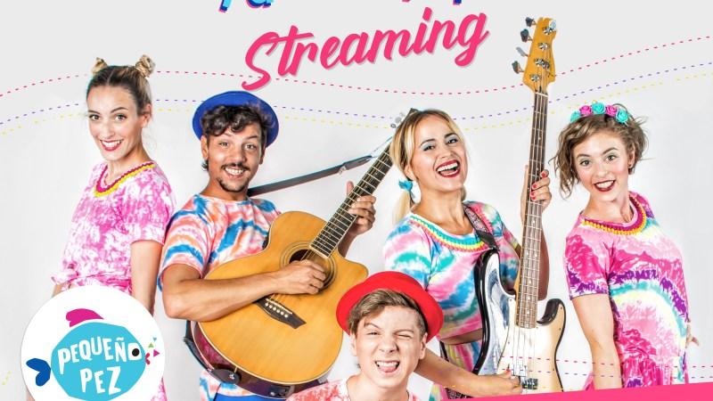 Pequeño Pez presentará un show por streaming desde Ciudad Cultural Konex