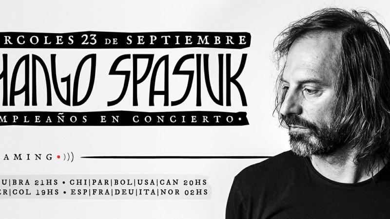 Chango Spasiuk en concierto
