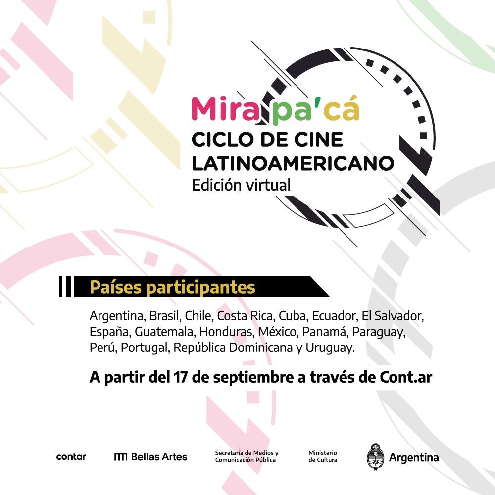Mirá Pa'cá 2020: la tercera edición del ciclo anual de cine latinoamericano en formato virtual