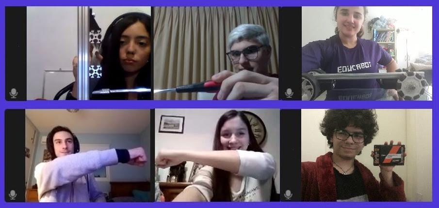 Estudiantes argentinos participan en el Mundial de Robótica First Global Challenge 2020