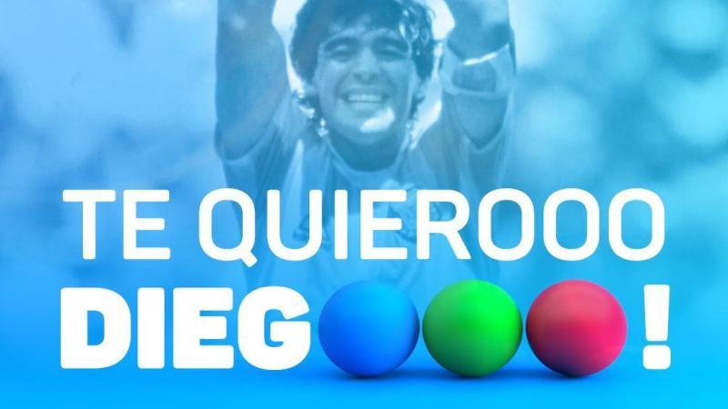 """""""Te quiero, Diego"""" programa especial que emitirá Telefe para homenajear a Diego Armando Maradona"""