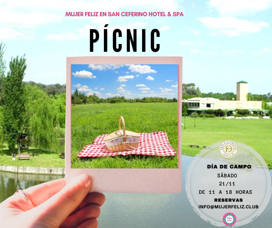 """""""Pícnic Día de Campo"""" en San Ceferino Hotel & Spa organizado por Mujer Feliz"""