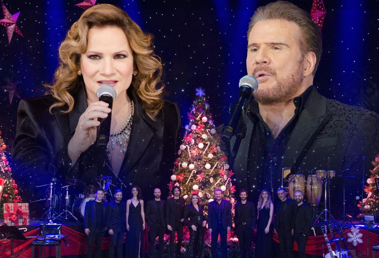 Telefe recibe la navidad con el dúo «Pimpinela»