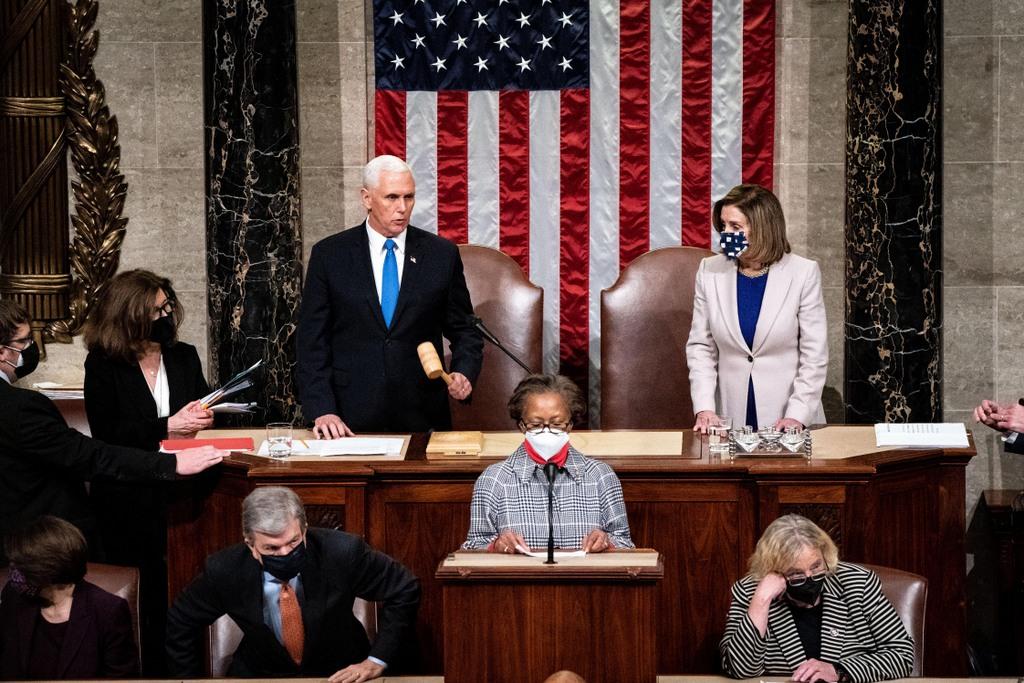 El Congreso de EEUU certifica finalmente la victoria electoral de Biden