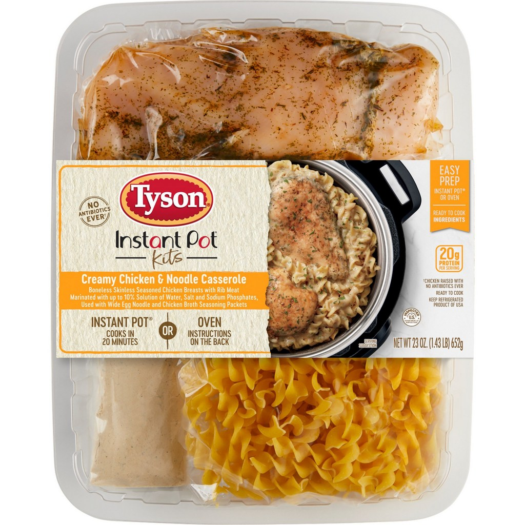 Anyone for Fewer Dishes and Easier Dinner Decisions? New Tyson® Brand Fresh Meal Shortcuts Offer Delicious Comfort Food Classics without the Effort