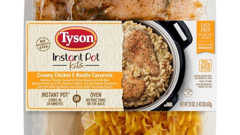 Tyson Creamy Chicken Noodle