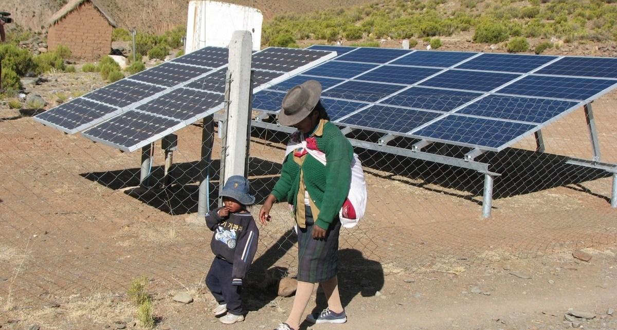 energías renovables para pueblos originarios