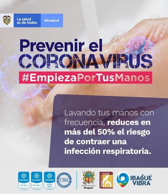 Recomendaciones especiales para prevenir el Coronavirus 1