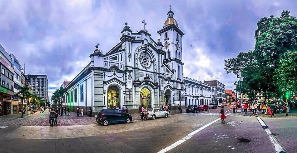 catedral ibague panorama