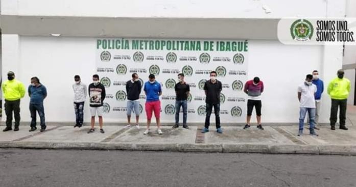 """DURO GOLPE AL MICROTRAFICO, CAYO LA BANDA DE """"LOS PERSAS"""" EN IBAGUE. 1"""