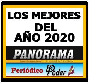 COMUNICADO A LA OPINIÓN PÚBLICA No 2. - LOS MEJORES DEL AÑO 2020. 2