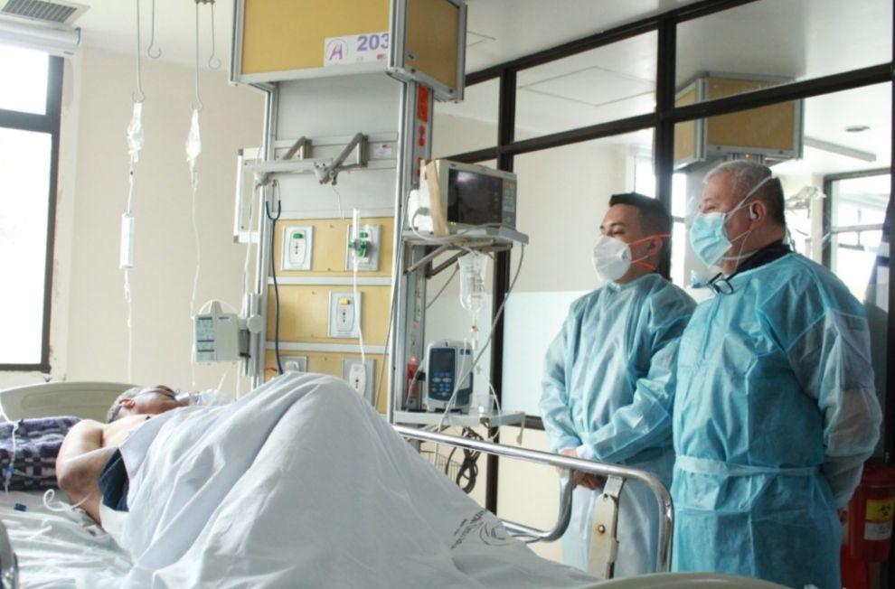 Hospital Federico Lleras confirma una ocupación de camas de UCI del 96% 1