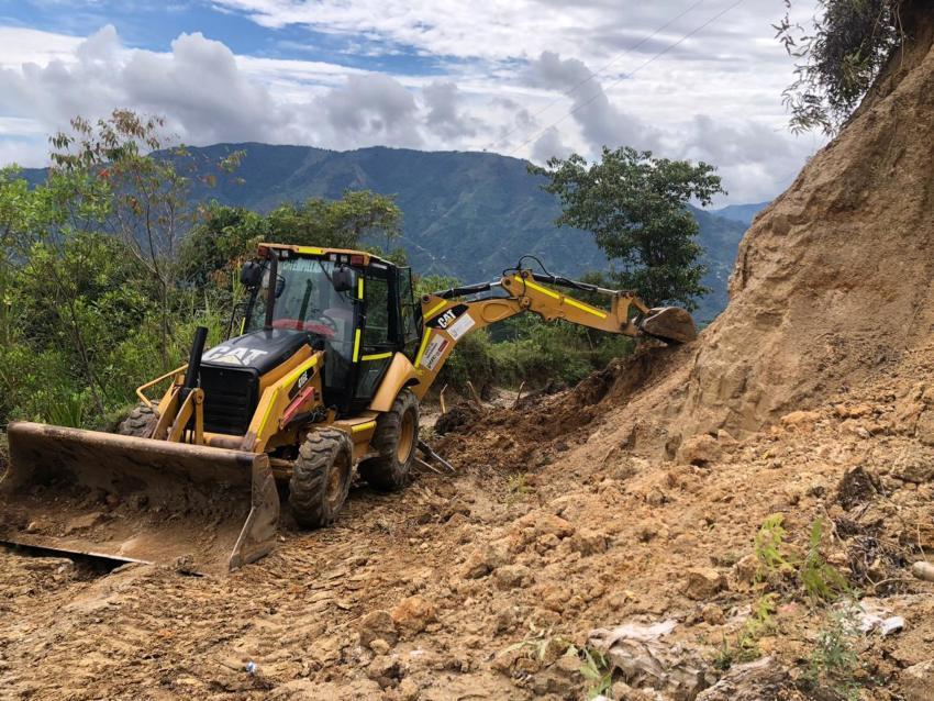 Derrumbes en la zona rural de Ibagué son atendidos entre la Gobernación y la Alcaldía 1