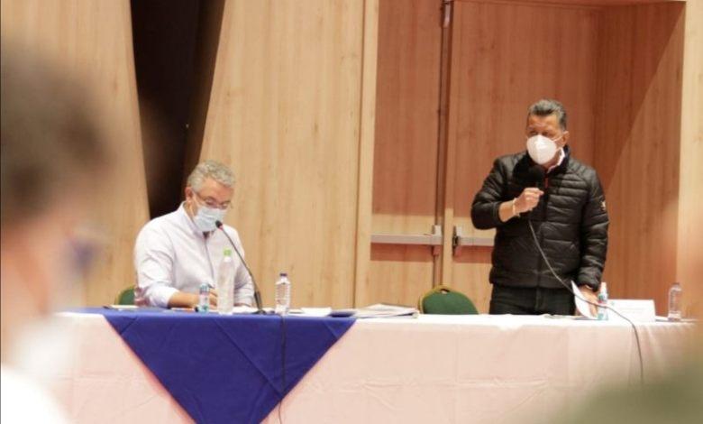 Presidente Duque anunció en Ibagué que este año será el de mayor destrucción de ollas del microtráfico en todo el país. 7