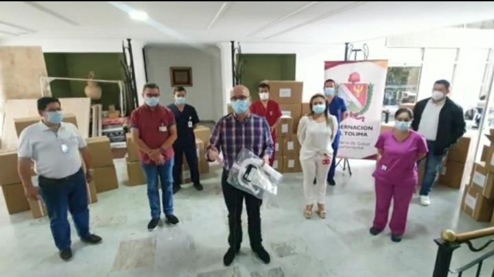 Gobierno Departamental entregó 34 mil circuitos ventilatorios para Unidades de Cuidados Intensivos. 1