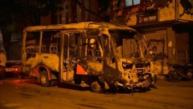Bus incinerado y cinco capturas resultado de vandálismo en ibagué. 6