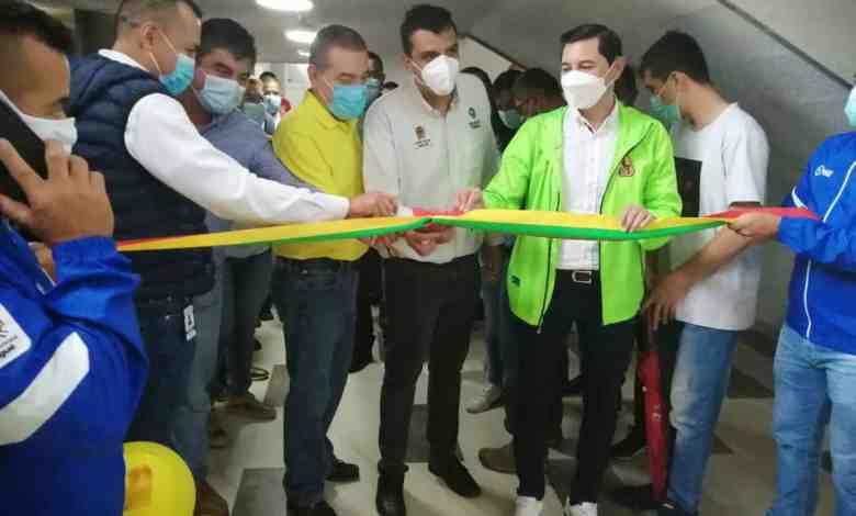 Alcalde Andrés Hurtado inauguró las nuevas obras del estadio Manuel Murillo Toro. 4