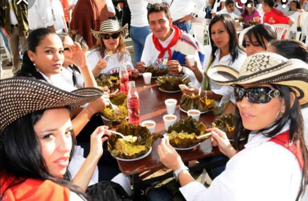 El dia de San Juan, también se celebra el 'Día del Tamal' en Ibagué. 1