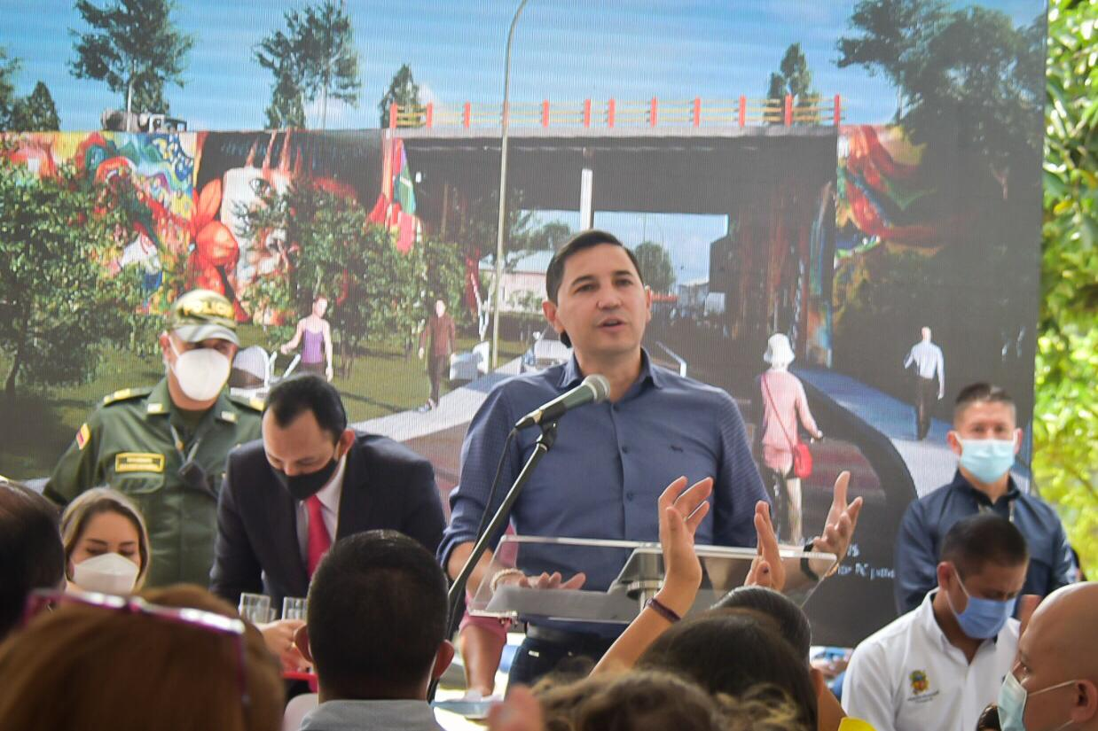 Más de 150.000 ibaguereños se beneficiarán con las obras de la calle 103. 1