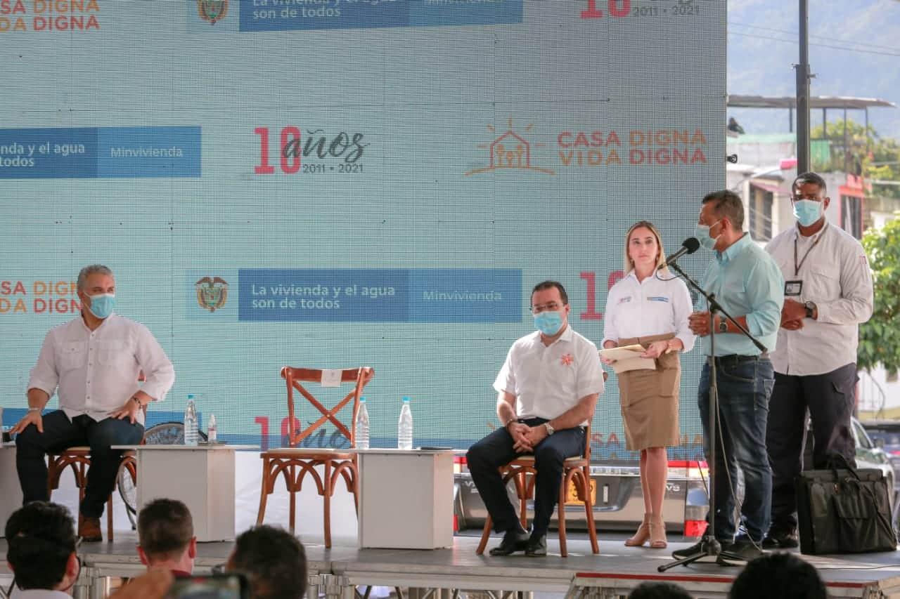 Gobernador Orozco agradeció al presidente Duque la millonaria inversión para obras de infraestructura en el Tolima. 1