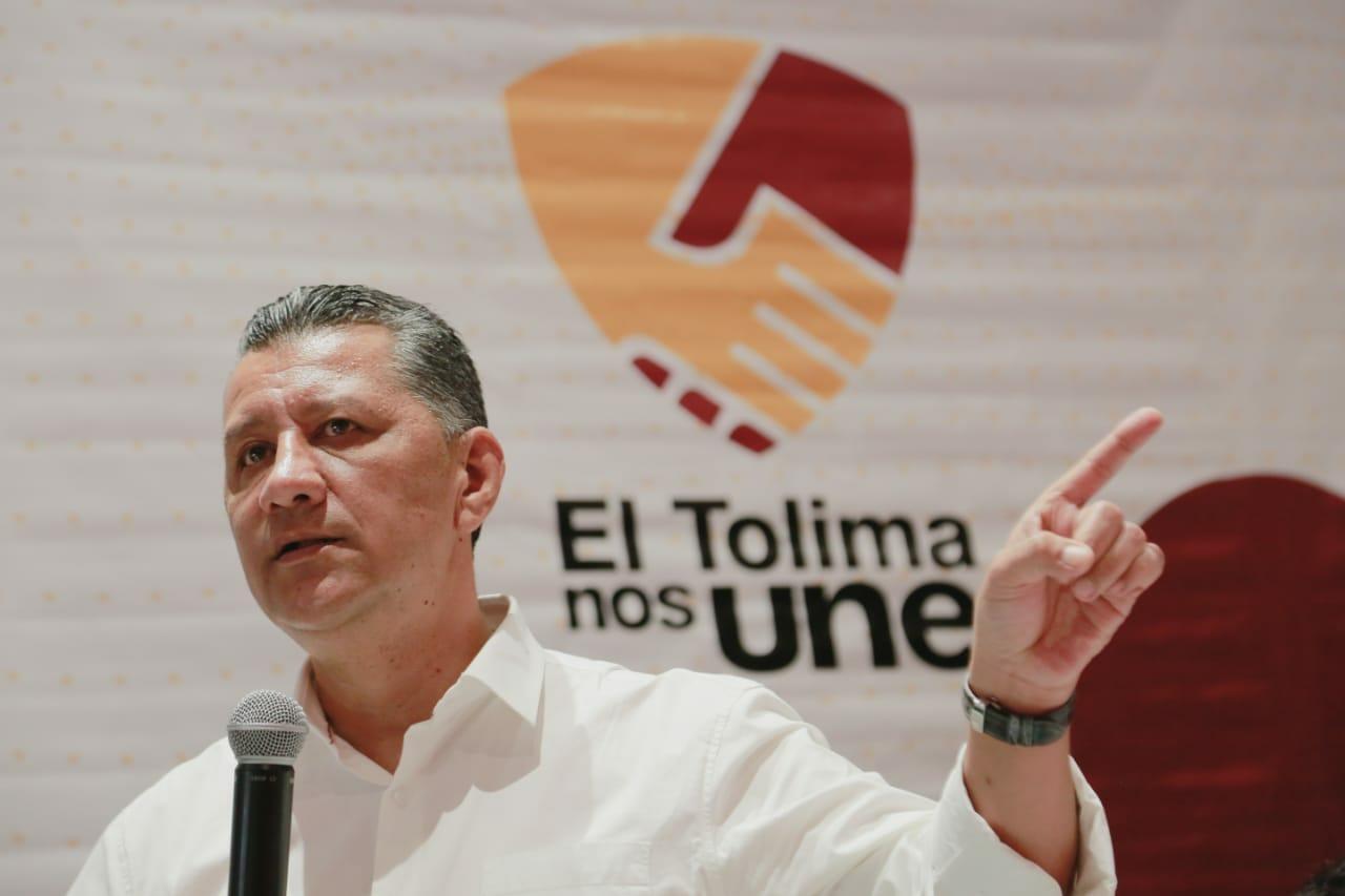 Gobernador Orozco se reunió con nuevos coroneles de Policía y organismos de seguridad en el Tolima. 1