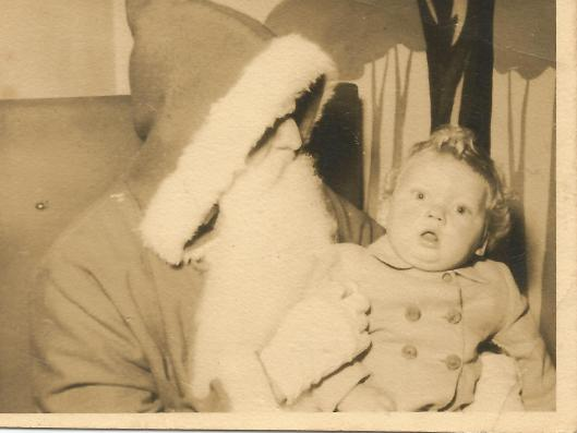 David and Father Christmas