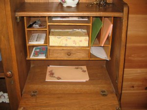 desk, open