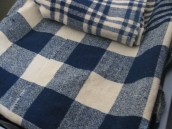 Cobertor 'aos quadrados'