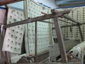 Colchas e tapetes de lã