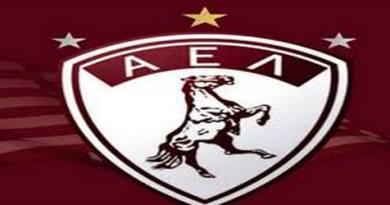 Γκέλα της ΑΕΚ στο AEL Arena της Λάρισας