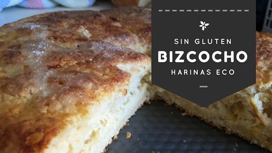 Pan dulce/bizcocho sin gluten con harinas Eco