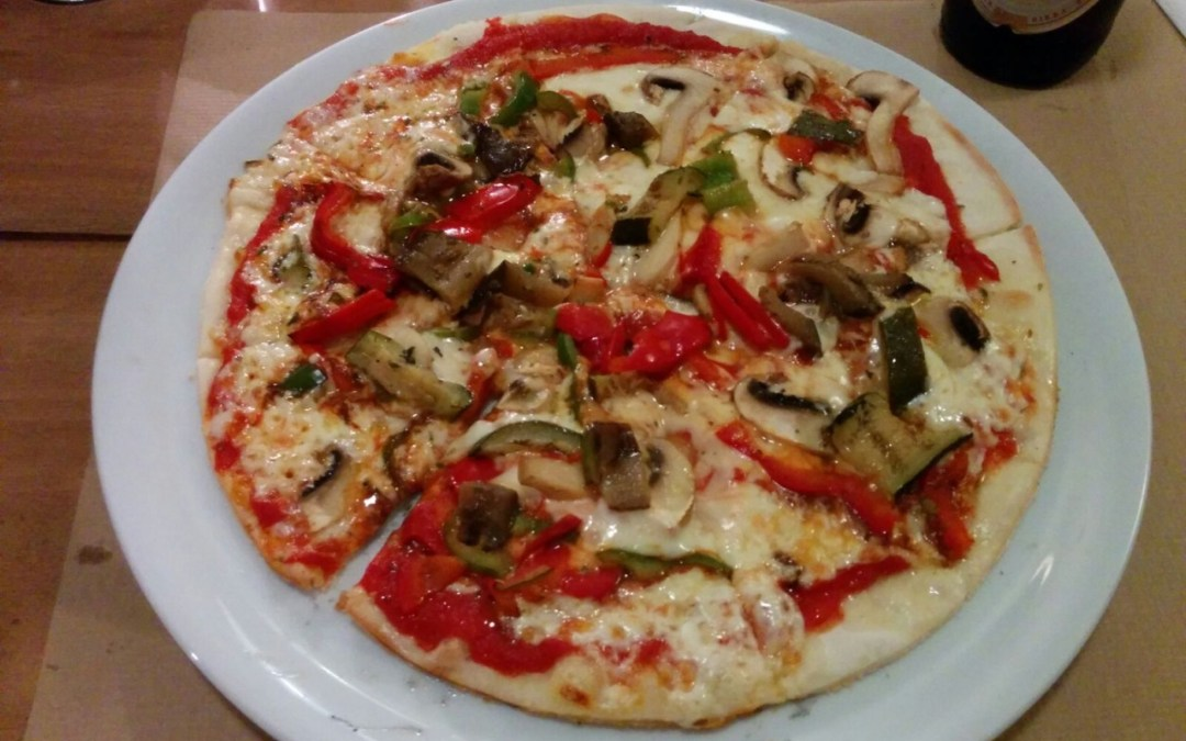 Base de pizza sin gluten