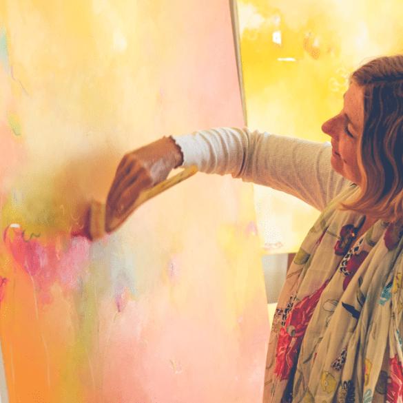 , Kreativität ist das Geschenk des Lebends an Dich
