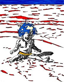Point de départ de mon projet d'illustration dans la yourte... https://creations-guillot.com/2014/12/15/yourte/